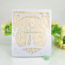 royal personalised pocket laser cut wedding invitation card bride groom wedding invitation card in paper crafts