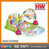 Hot sale pedal piano fitness frame baby play gym mat