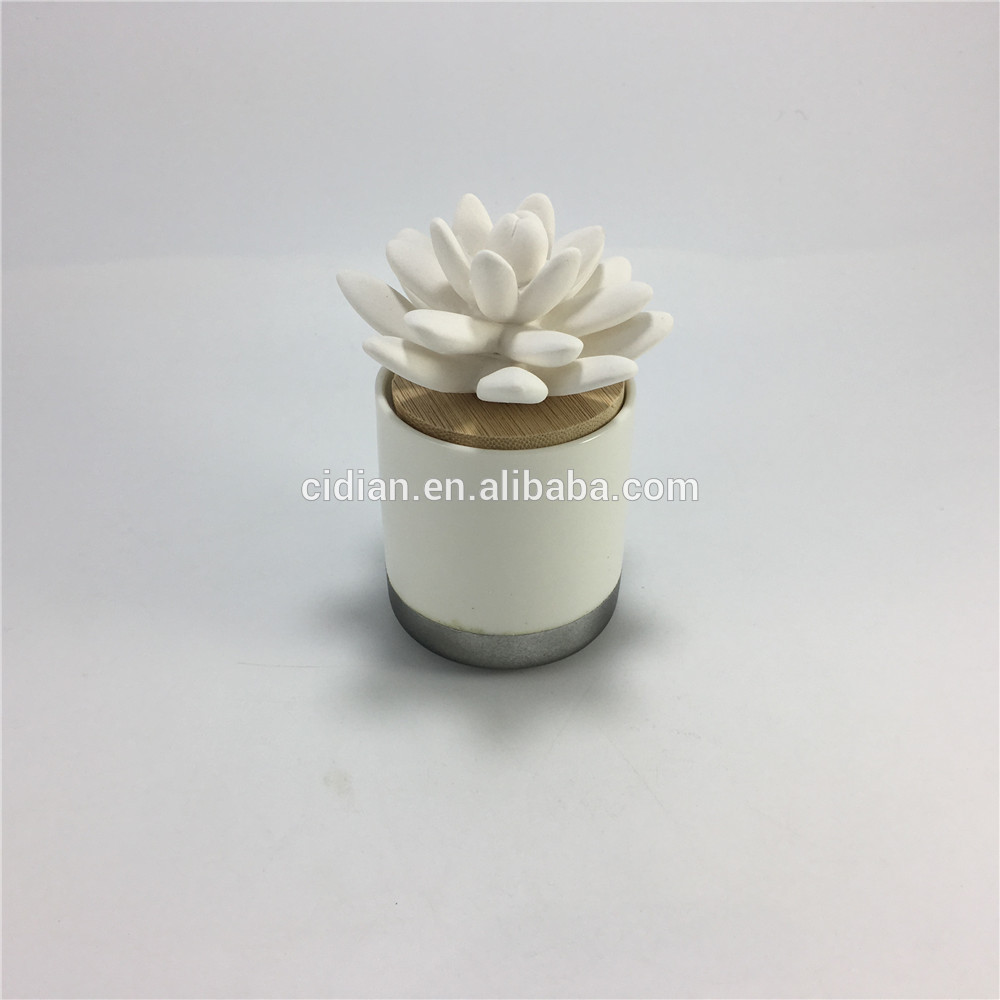 Hot sell ceramic air reed freshener set for home decor