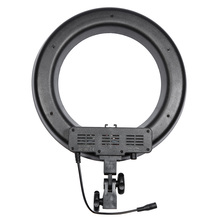 RL-12 Makeup Photography Ring Light Led Photographic Lighting 3200-5600K 3 Hot Shoes For Camera Phone <strong>w</strong>/ Selfie Lamp Stand
