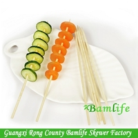 party disposable cocktail round kebab meat skewers