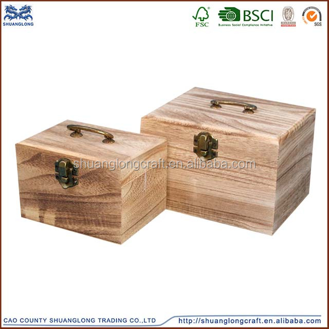 small cheap art minds wood crafts unfinished keepsake handicraft small wooden box wholesale