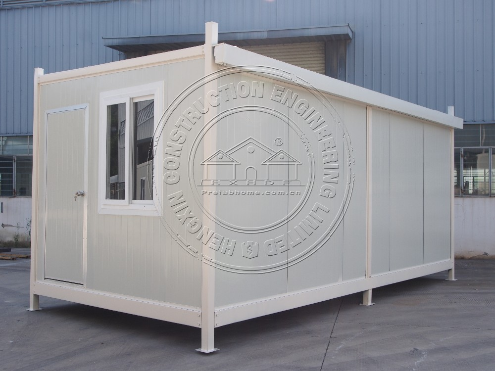 prefab mobile shop shipping container house