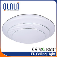 High brightness Round Surface Mounted hunter ceiling fans light kits
