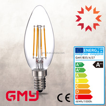 high quality UL CE B35 6w warm and cool color Candle led bulbs