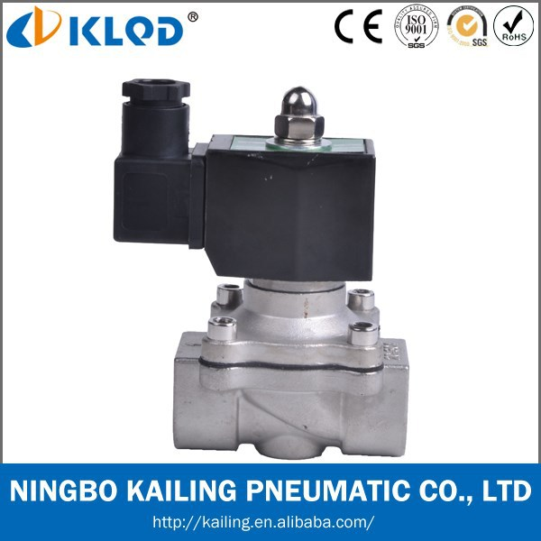 Stainless steel material 12v electric water valve 2WB-40 1-1/2""