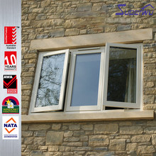 Good hareware tempered glass PVC/UPVC fixing glass windows
