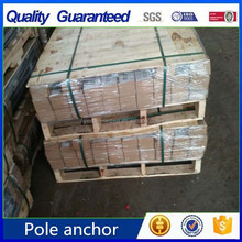 Hot dip galvanized pole anchor/ post spike