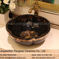 Chinese factory direct handmade artistic ceramic wash basin / fancy sink