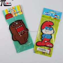 Cute cartoon design hanging car perfume with low price