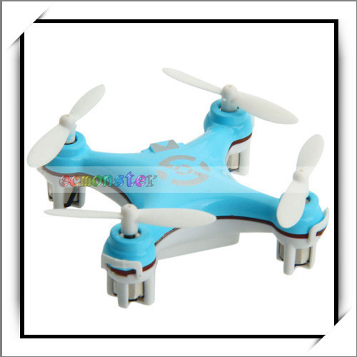 Cheapest CX-10 Mini 29mm 4CH 2.4GHz 6-Axis Gyro RC Magic UFO Toy Blue