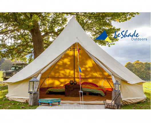 5m luxury glamping cotton canvas bell <strong>tent</strong> outdoor glamping <strong>tent</strong>