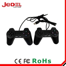 Black Wired Controller For PS2 Dual Vibration Joystick Gamepad Joypad For PS2 Playstation