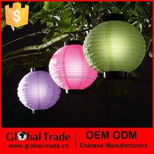 G0044 Outdoor Chinese Solar Powered Lantern Led Lights For Garden BBQ Party Holiday
