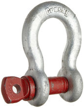"Crosby G209 9.5T Screw Pin Anchor Shackle 1-1/8"" (1018552)"