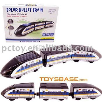 educational toy , solar high -speed train carZZH100772