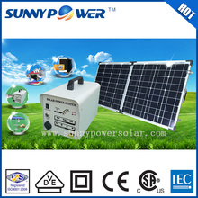 DC output 100w solar panels for sale and portable solar power storage system with mobile charger