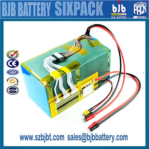 LiFePO4 96v 15Ah 30Ah 100ah ev battery pack for motor battery & electric car