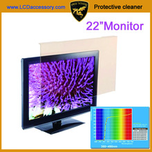 21 inch Anti Blue Filter Screen Protector from Dry Eyes Strain Blurred Vision