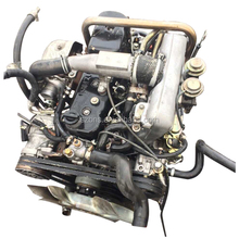 Hot made in japan isuz used 4JA1 4JB1 4JB1T diesel engine for npr truck, light truck and pickup