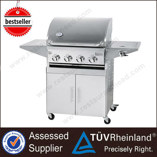 Industrial Stainless Steel Rotary Chicken Electric Gas barbecue grill