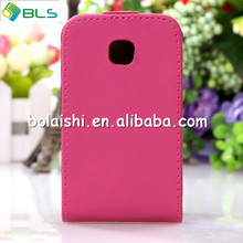Flip Leather Case Pouch For LG L3 Mobile Phone Pink Brand New Cover