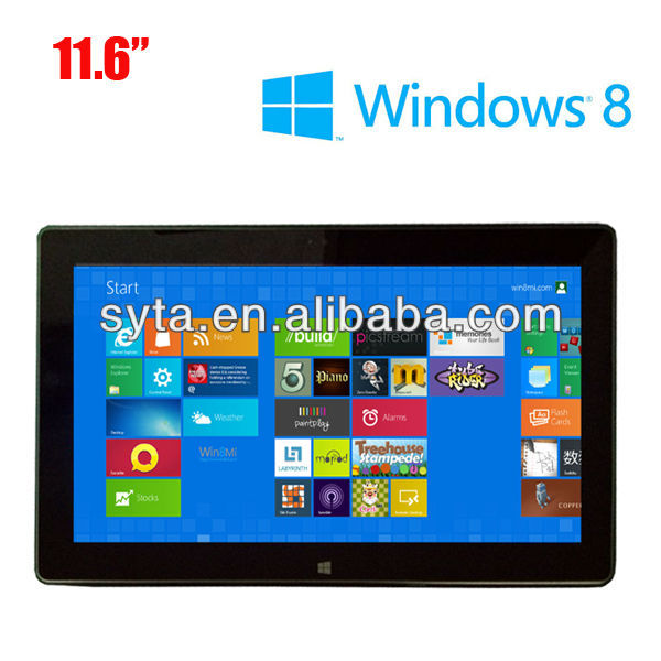 11.6 inch window xp cheapest tablet pc
