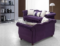 Purple Apartment furniture in Arab sofa for furniture living room for home