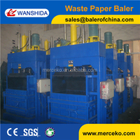 Unique design type used scrap carpet baling machine