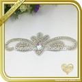 New Design Bridal Sash Applique Crystal Rhinestone Trimming For Dress FRA-093