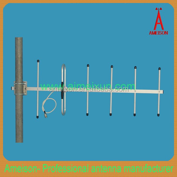 AMEISON 824 - 960MHz Directional 10 dBi 6 Elements GSM CDMA 4G LTE mmds yagi antenna