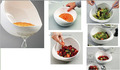 salad bowl with strainer