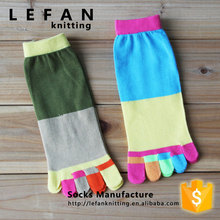 Women Knitting China Custom Sock Manufacturer With Lady Teenage Tube Toe Sock