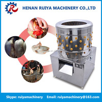 Round type Automatic Poultry Broiler Chicken Plucking Machine, Dehairing Machine for Poultry Slaughter Equipment