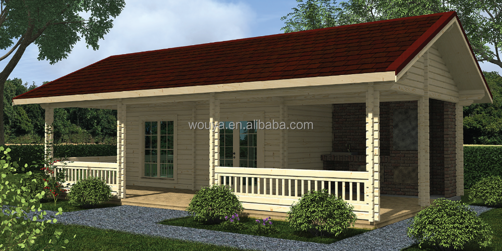 low cost prefabricated wood houses log wood house cheap prefab house