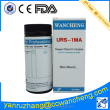 urine micro albumin test kit URS-IMA 100 strips