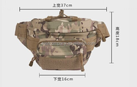 Outdoor Camping Traveling Waist Packs Multi-function Belt Waist Bum Hip Belly Fanny Pack Waist Bag for Hunting Soldier Riding