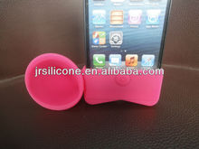 Silicone case for iphone5,horn silicone case,silicone speaker case for promotional gifts