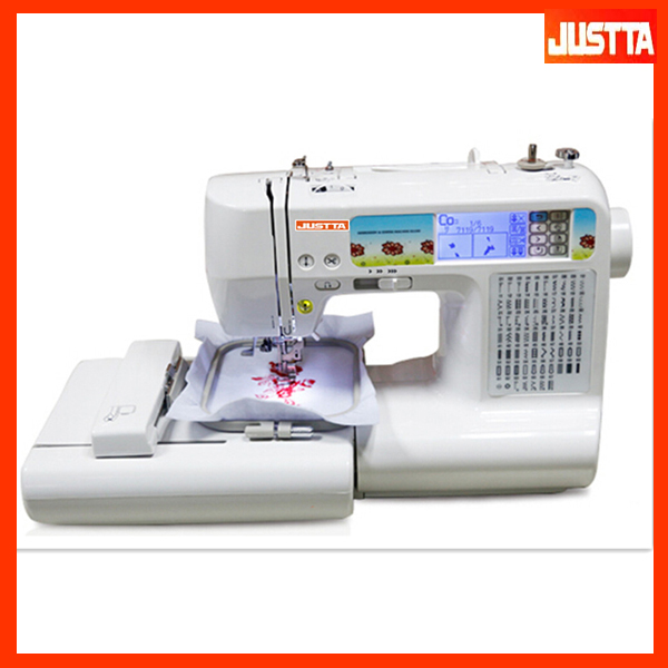 JT-ES950N Computer Sewing Embroidery Machine For Hat