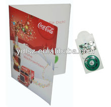 customized greeting card led module for invitation gifts, promotional, holiday