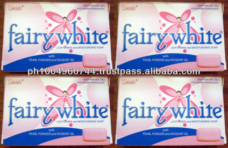 4 Fairywhite Lightening Soap Rosehip Oil and Pearl Powder