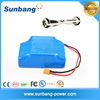 rechargeable 10S2P 18650 li ion 36v 4.4ah smart board electric scooter battery with samsung cells