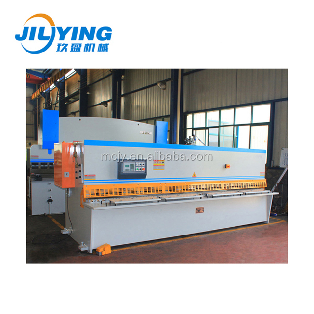 hydraulic guillotine shearing machine for 4mm thick 20ft length cut
