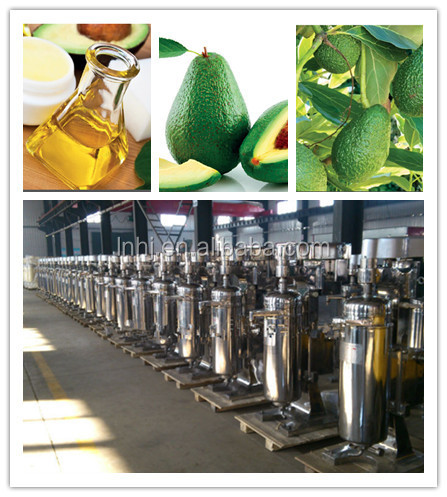 Three-Phase Separation Cold Pressed Avocado Oil Machine
