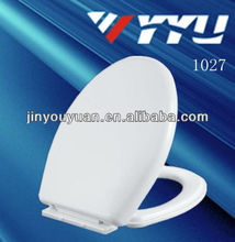 1027elongated sanitary ware soft close toilet seats cover