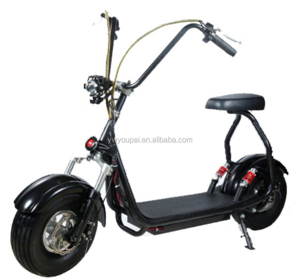 1500W <strong>City</strong> Scooter 60V12A EEC Scooter 2 Wheels Harley Electric Scooter For Adult