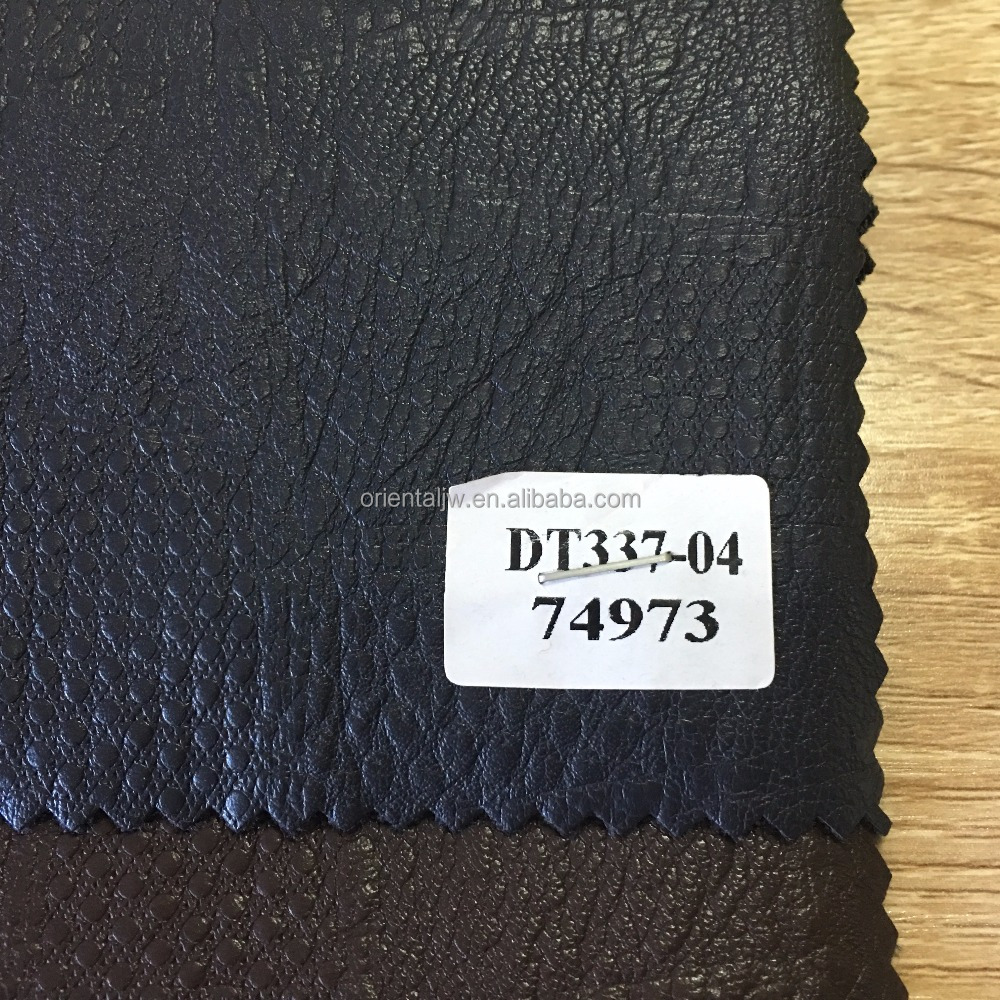 wholesale cheap roll fabrics imitation leather for cloth use