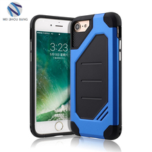 New Arrive Anti-Skid Shockproof Armor bumper Case TPU PC Phone Case for iPhone 8