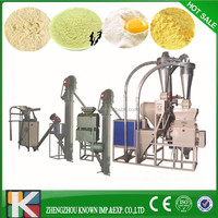 China professional manufacturer complete corn/maize/wheat/rice flour mill machine