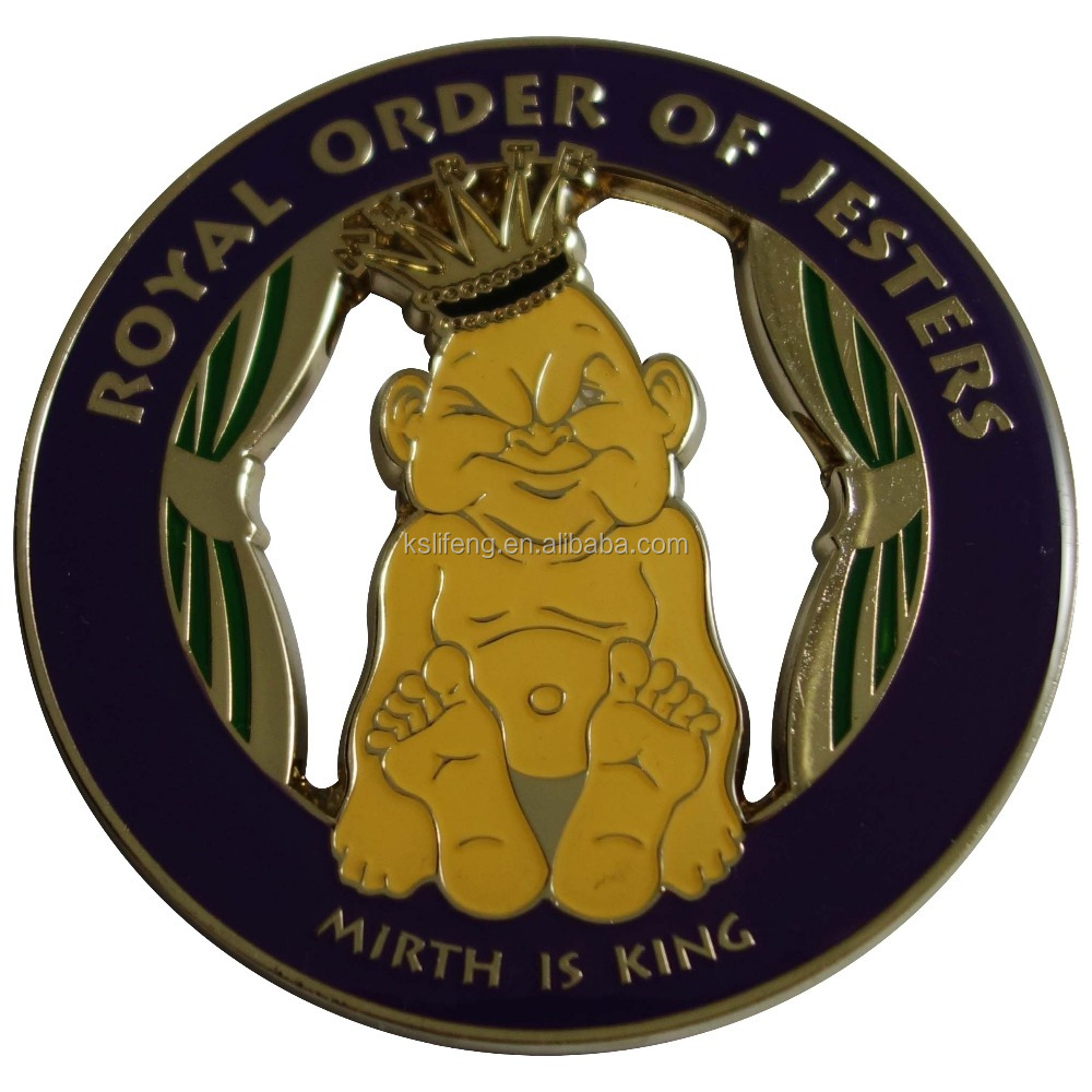 Royal Order of Jesters Car Emblem